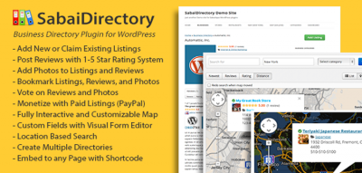Sabai Directory plugin for WordPress 1.4.9