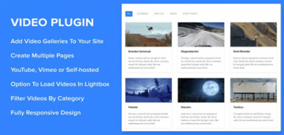 Sortable Video Embed WordPress Plugin 2.0.0