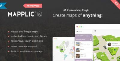 Mapplic – Custom Interactive Map WordPress Plugin 6.2.1
