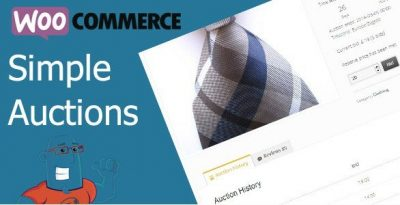 WooCommerce Simple Auctions – WordPress Auctions 1.2.40
