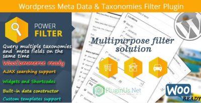 WordPress Meta Data & Taxonomies Filter 2.2.5