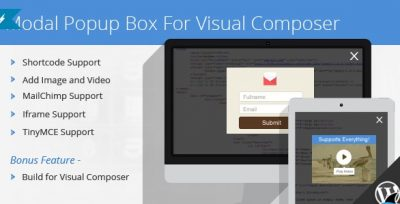 Modal Popup Box For Visual Composer 1.4.14