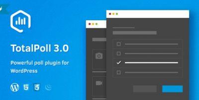 TotalPoll Pro – Responsive WordPress Poll Plugin 4.6.0