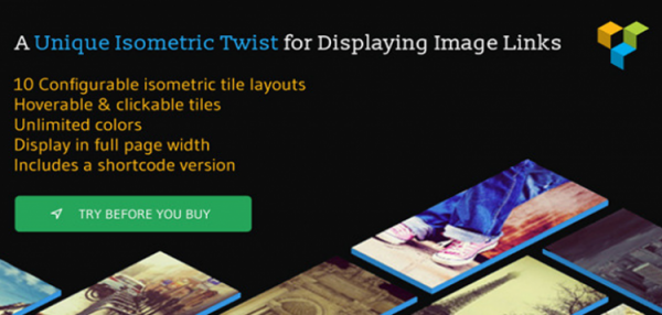 Isometric Image Tiles Shortcode for WPBakery Page Builder (formerly Visual Composer) 1.6.1