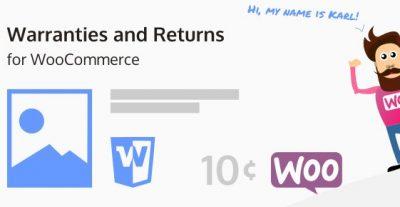 Warranties and Returns for WooCommerce 5.1.2