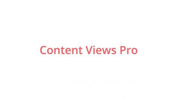 Content Views Pro 5.8.4.1.1