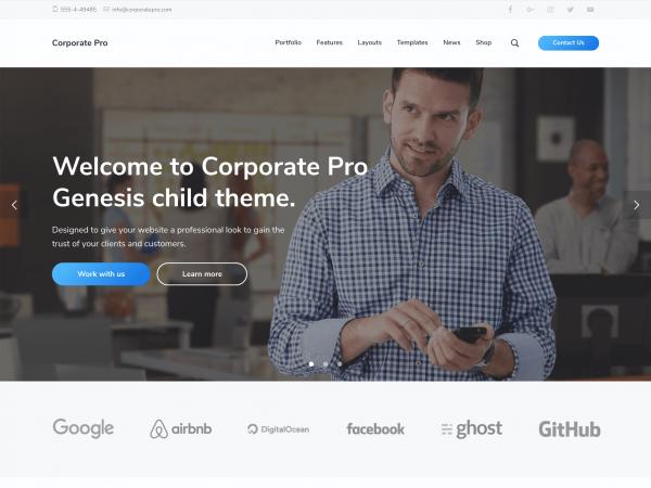 Studiopress Corporate Pro Theme 1.1.1