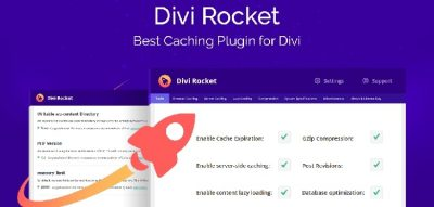 Divi Rocket - Caching Plugin Specifically Designed For The Divi 1.0.31