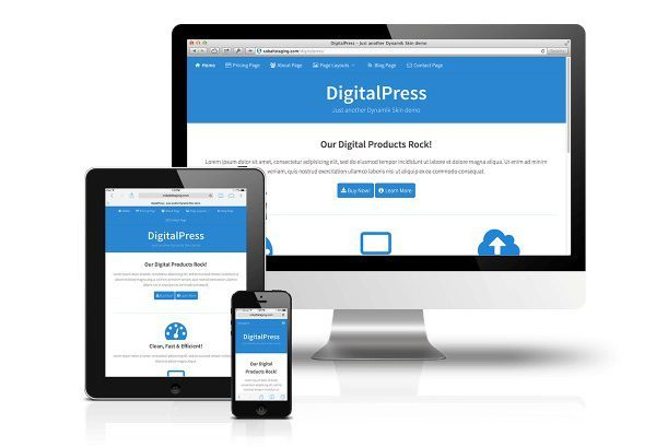CobaltApps DigitalPress Skin for Dynamik Website Builder 1.0