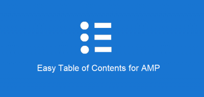 AMPforWP Easy Table of Contents for AMP 1.0.3