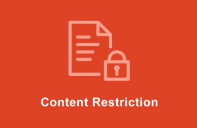 Easy Digital Downloads Content Restriction Addon  2.3