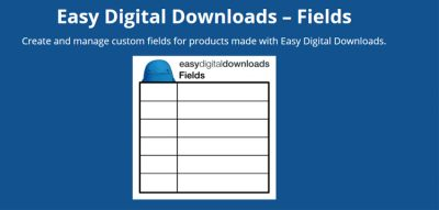 Easy Digital Downloads Fields by Real Big Plugins 1.0.5