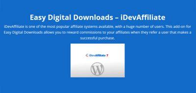 Easy Digital Downloads iDevAffiliate by Real Big Plugins 1.2.0
