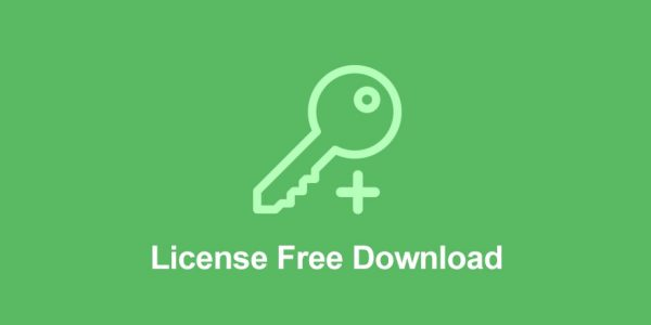 Easy Digital Downloads License Free Download Addon 1.0.1