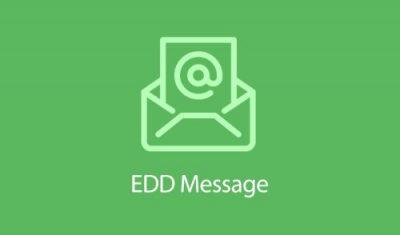 Easy Digital Downloads Message Addon 1.2.1