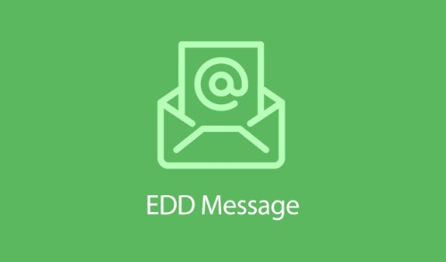 Easy Digital Downloads Message Addon 1.2.2