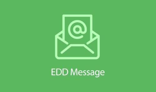 Easy Digital Downloads Message Addon 1.2.2