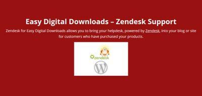 Easy Digital Downloads Zendesk Support by Real Big Plugins 1.3.0