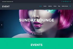 Themify Event WordPress Theme 2.3.2