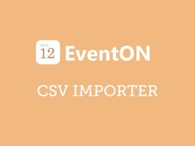 EventON CSV Event Importer Addon 1.1.8