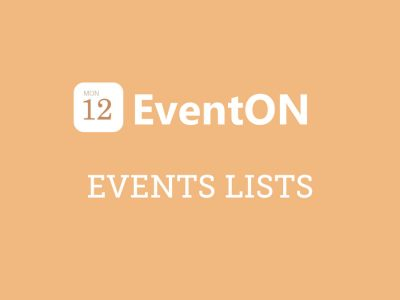 EventON Events Lists Extended Addon 0.18
