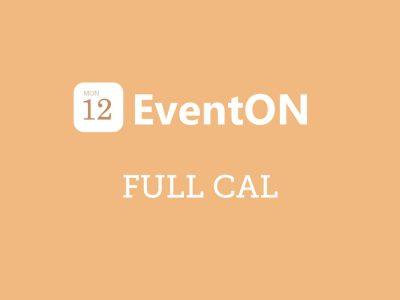 EventON Full Cal Addon 1.1.11