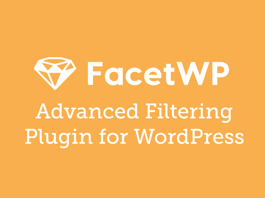 FacetWP – Advanced Filtering Plugin for WordPress 3.5.1