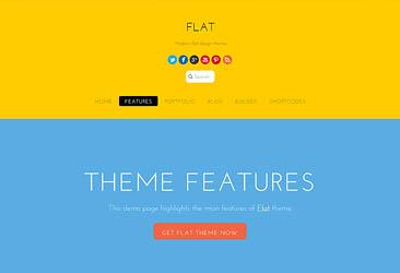 Themify Flat WordPress Theme 5.1.1