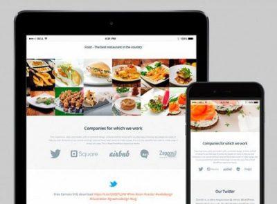 VisualModo Food WordPress Theme 3.1.5