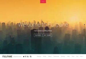 Themify Fullpane WordPress Theme 2.3.9