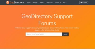 GeoDirectory List Manager 2.1.1.0