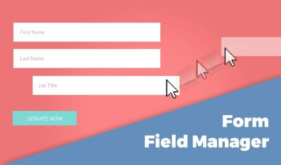 Give Form Field Manager 1.5.0