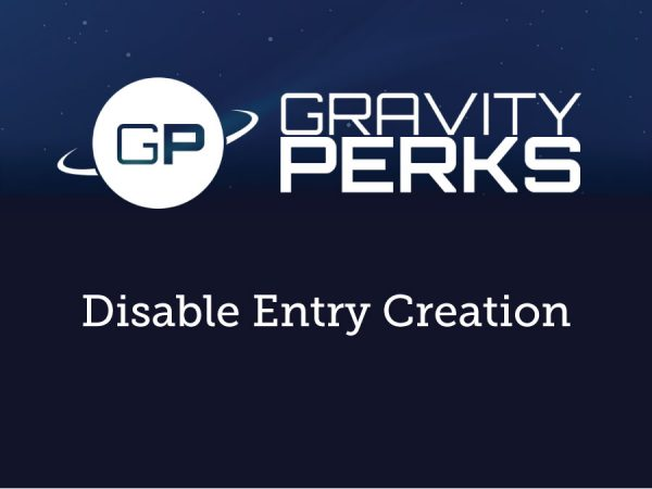 Gravity Perks Disable Entry Creation 1.0.9