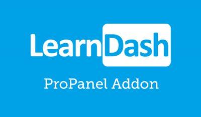 LearnDash LMS ProPanel Addon 2.1.3