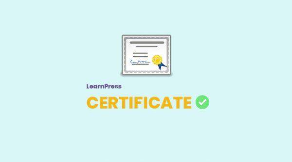 LearnPress - Certificates Add-on 3.2.0