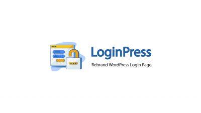 LoginPress - Login Logout Menu 1.1.0