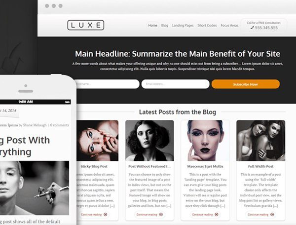 Thrive Themes Luxe WordPress Theme 1.508