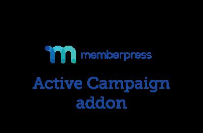 MemberPress Active Campaign Addon 1.1.0