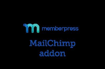 MemberPress MailChimp Addon 1.2.2