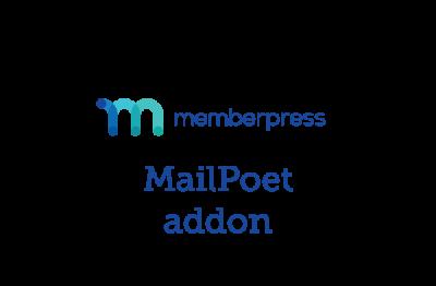 MemberPress MailPoet Addon 1.2.1