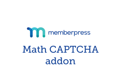MemberPress Math CAPTCHA Addon 1.1.7