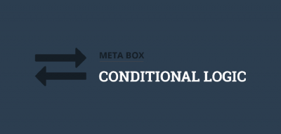 Meta Box Conditional Logic 1.6.13