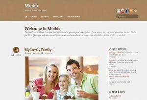 Themify Minblr WordPress Theme 5.2.1
