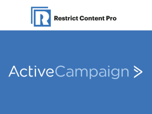 Restrict Content Pro – ActiveCampaign 1.1.1