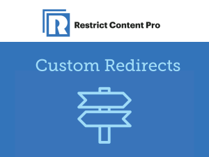 Restrict Content Pro – Custom Redirects 1.0.6