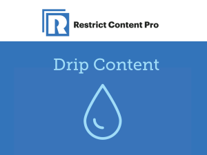 Restrict Content Pro – Drip Content 1.0.7