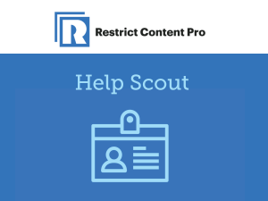 Restrict Content Pro – Help Scout 1.0.4