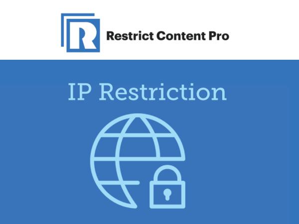 Restrict Content Pro – IP Restriction 1.2.8
