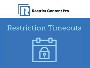 Restrict Content Pro – Restriction Timeouts 1.0.5