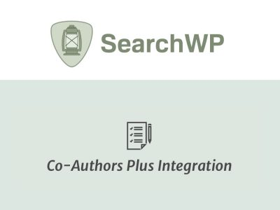 SearchWP Co-Authors Plus Integration  1.1.1